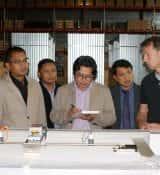 Visit Pas reform (Doetinchem): Tour Distribution Centre and explanation incubators Ernst Pfeijffer and Eddy Gunsing (Project Managers).