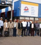 Visit Jansen Poultry Equipment (Barneveld): Presentation stall equipment and factory visit by Phil Gobardhan.