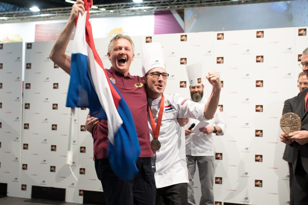 Peter Bienefelt, who owns the Atelier du Pain bakery in the Rotterdam suburb, says he trained like a top athlete to win the competition, including taking on a mental coach. The competition included baking bread with the 'wow' factor, for which Bienefelt used purified Oosterschelde seawater, algae, squid ink, currents and olives. 'The bread had a very low percentage of salt,' he told website Bakkerswereld.nl. 'That is totally in.' Bienefelt had to see off the best bakers from Canada, Australia, Japan, Taiwan and Turkey to win the prize but says time was his biggest enemy. 'I did take time to eat and drink… imagine you had to go to the restroom,' he said. 'You got five penalty points for every extra five minutes. And you cannot afford that at this level.' (source: https://www.mastersdelaboulangerie.com)