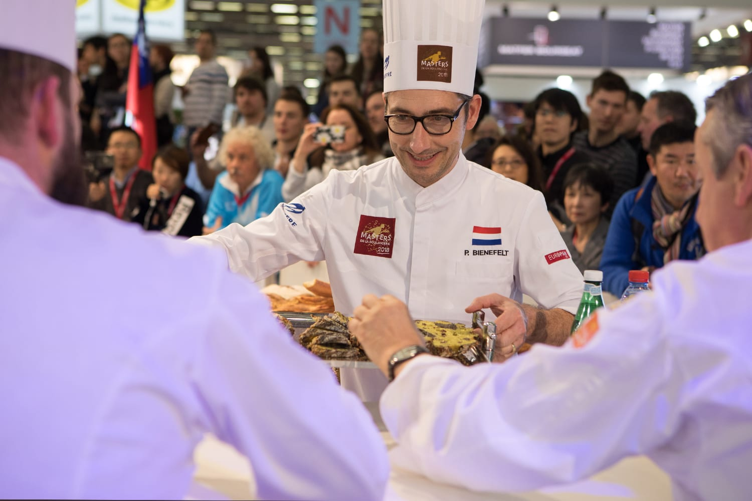 The Dutchman will showcase his capabilities on the China Bakery fair 2018 in Shanghai by demonstrations on Thursday (May 10th) and Friday (May 11th).