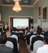 Davina Lamme Speaking On HortiTechIndia Seminar On Greenhouse Technology