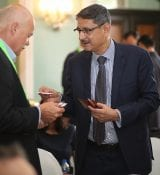 Networking at HortiTechIndia Seminar On Greenhouse Technology