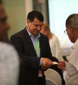 Networking at HortiTechIndia Seminar On Greenhouse Technology3