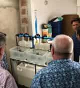 FoodTechAfrica Tanzania visiting Hatchery