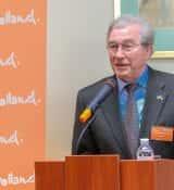Coordinator Steffen Smeenk At Launching Of WaterwayTechHolland At The Dutch Embassy In Kiev