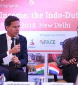 PM Rutte At Agriculture Seminar At Trade Mission To India 2018