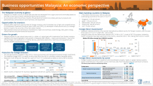 Business opportunities Malaysia: An economic perspective