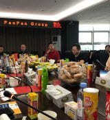 BakeryTechChina in discussion with Panpan in Quanzhou.