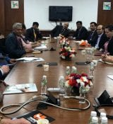 Meeting with government of Gujarat Horticulture Department